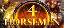 <div>4 Horsemen the brand new, bone chilling game; it will wow you with COLOSSUS symbols, stacked wilds, instant wins & other features you don't want to miss! <br/>